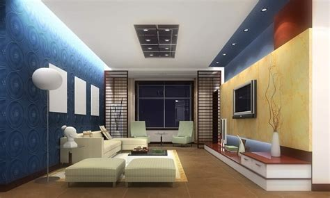 3d room design pale blue walls living room interior design 3d 3d house
