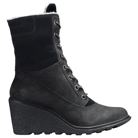 timberland womans boots timberland amston roll top wedge boots s boots shoes