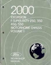 2000 Ford Excursion F250 F350 F450 F550 F Super Duty