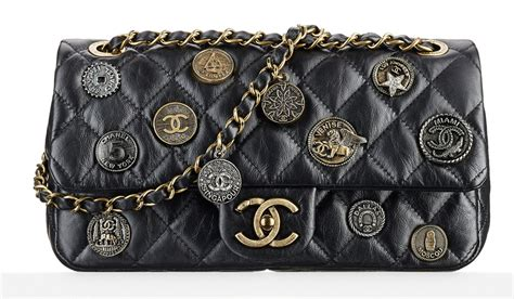 Preloved Chanel Ghw Flap Calf 19 check out chanel s dubai themed cruise 2015 bags in boutiques now purseblog