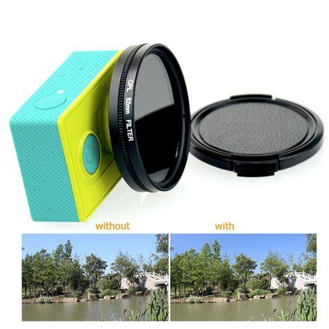Lens Protection For Xiaomi Yi tekcam 52mm cpl lens filter circular polarizing filter for xiaomi yi yi 4k xiaomi