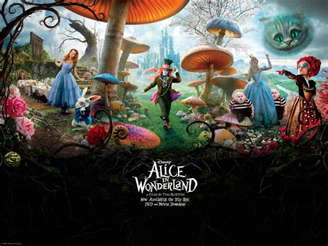 themes in disney films alice in wonderland wallpapers wallpaper cave