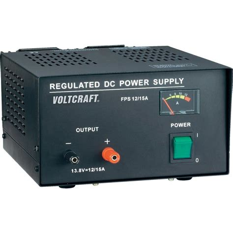 bench power supply unit bench psu fixed voltage voltcraft fsp 11312 13 8 vdc 12