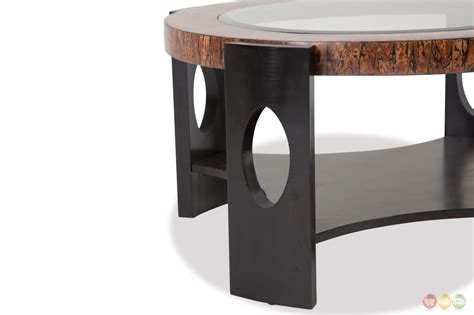 transitional glass coffee tables montecristo transitional coffee table with and