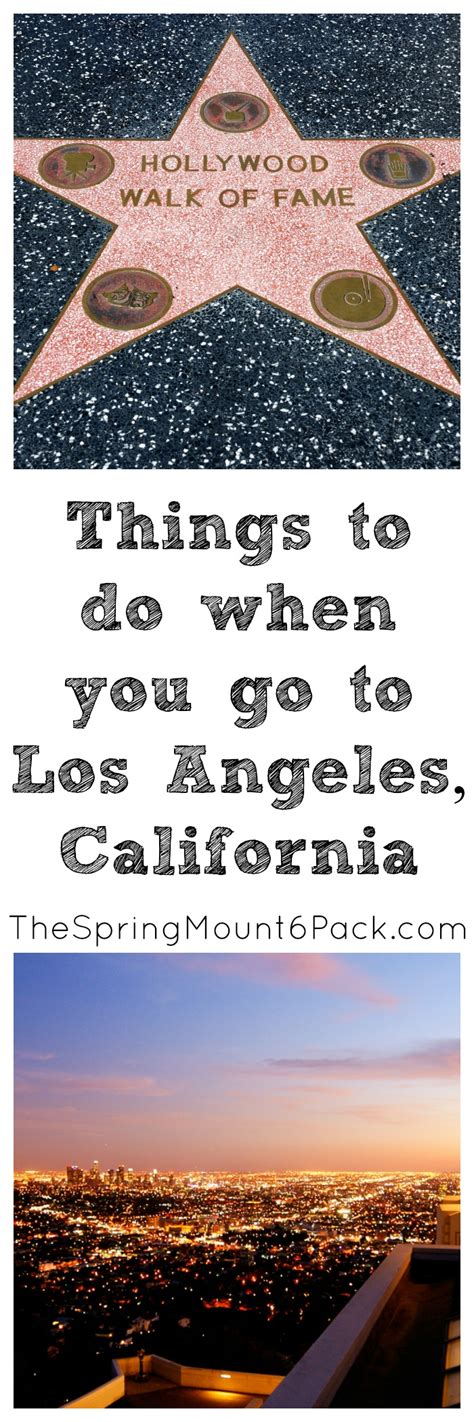 10 Things To Do To Get A Breakup Easily by Things To Do Around Los Angeles The Mount 6 Pack