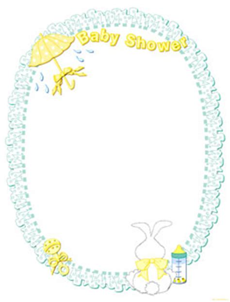 Baby Shower Frame by Free Printable Digital Scrapbook Pages Wedding Shower