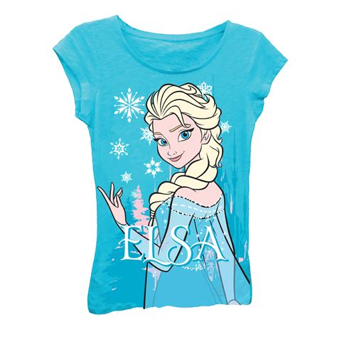 frozen turquoise elsa princess fashion top t shirt t shirt mall