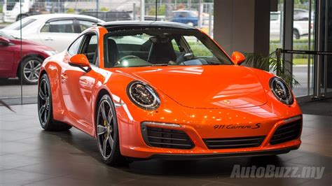 porsche malaysia all turbo porsche 911 carrera launched in malaysia priced