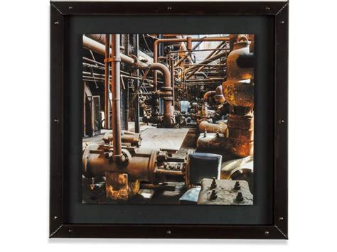 Handmade Machine Frames - welded steel picture frames a frames