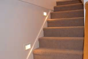 How To Install Led Stair Lights by Recessed Stair Lighting