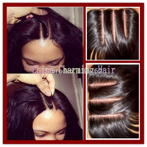 pictures of haistyles with 3 part silk closure 8a 3 way part silk base closure 4x4 100 unprocessed