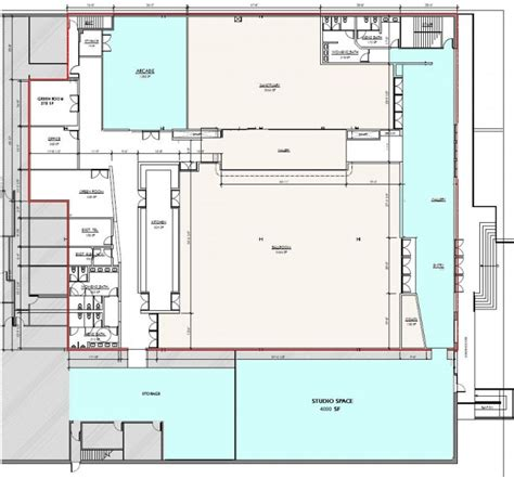 Loading Dock Floor Plan philanthropic floor plan the loading dock