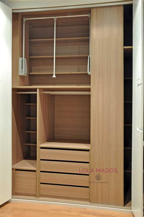armarios interior hacer interior de armarios empotrados a medida blancos