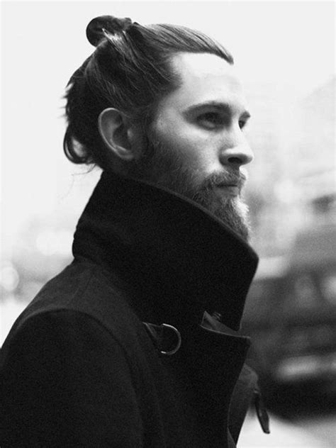 how to top knot for guys guys with top knots and long hair hair pinterest