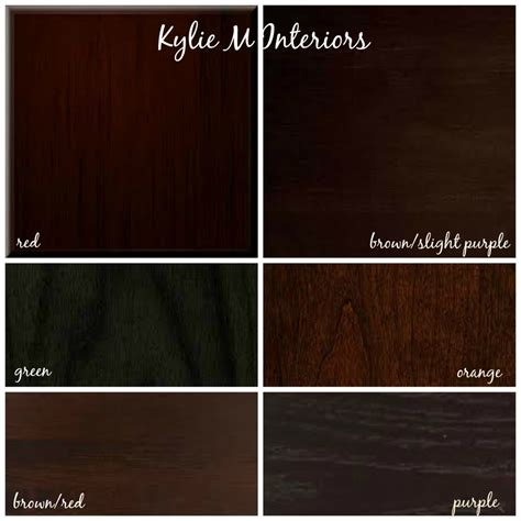 how to mix and match cherry espresso oak maple wood stains and undertones for cabinets