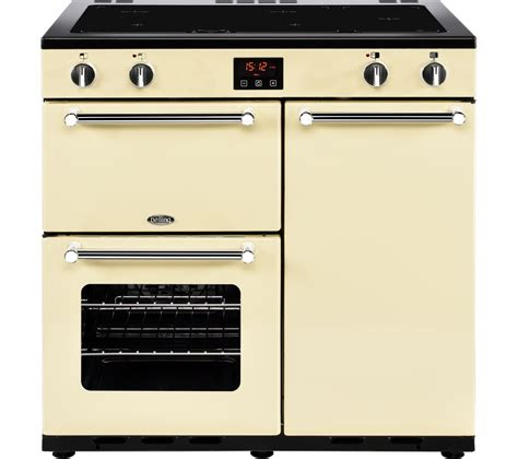 electric oven with induction hob buy belling kensington 90 cm electric induction range cooker chrome free delivery