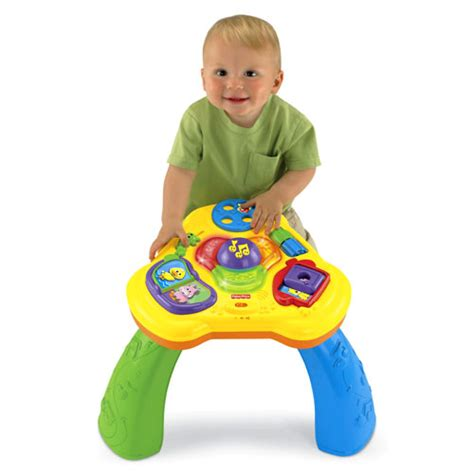 Elc Building Activity Table lights sounds activity table