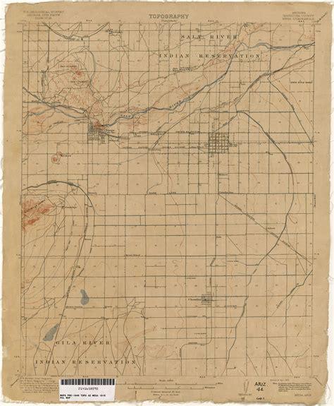 arizona historical topographic maps perry casta 241 eda map