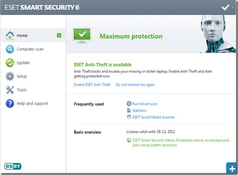 eset antivirus full version for android eset smart security 6 full version with serial keys