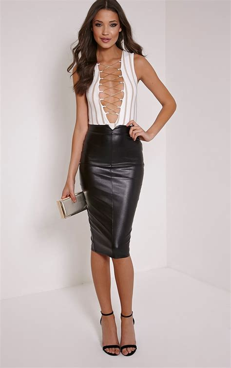 leather skirt feminine in way cosmetic ideas