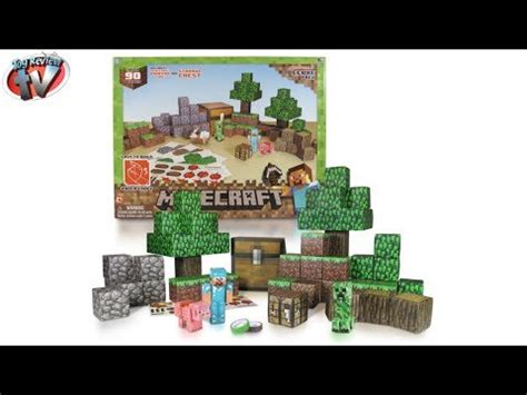 Minecraft Overworld Deluxe Papercraft Pack - minecraft papercraft mechanical piston doovi