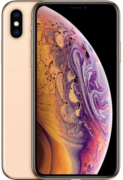 apple iphone xs max with facetime 256gb 4g lte gold souq uae