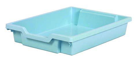 big w plastic single drawer plastic drawer single pastel blue gratnells