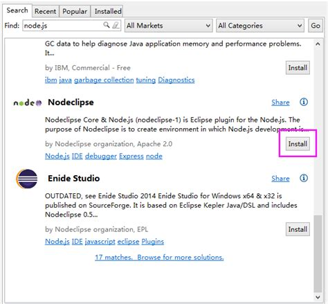 node js tutorial in eclipse node js插件安装图文教程 node js js教程 php中文网