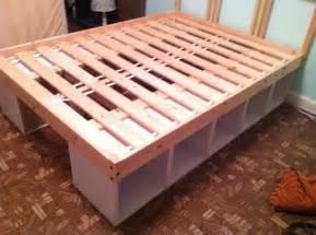 Do It Yourself Platform Bed With Storage Diy Storage Bed Do It Yourself