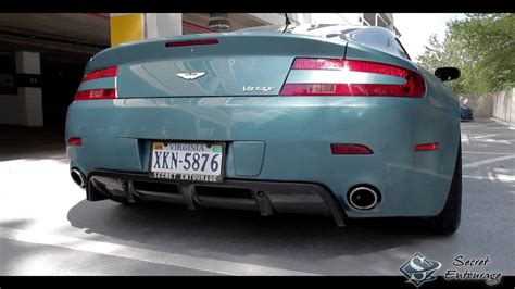 Aston Martin Exhaust by Aston Martin Vantage With Rsc Tuning Exhaust