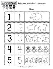 preschool worksheet using numbers free kindergarten math