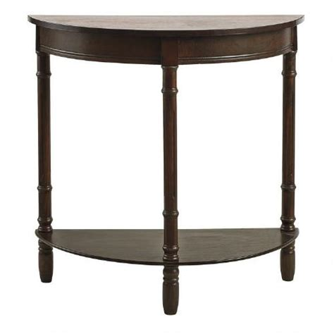 Half Circle Console Table by Cherry Half Console Table Tree