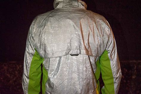 ultimate visibility torch cycling jacket shines at night ultimate visibility torch cycling jacket shines at night