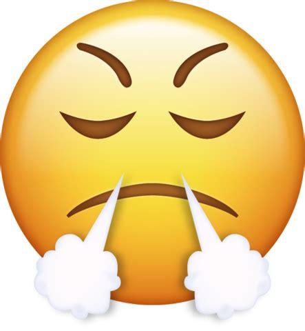 mad emoji   iphone emojis  png