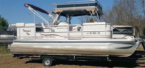 parti kraft pontoon boat covers 2003 parti kraft pontoon boats for sale