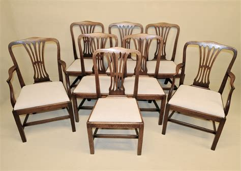antique mahogany dining chairs 260811 sellingantiques