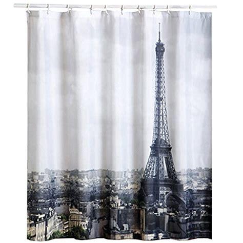 shower curtain paris msv paris polyester shower curtain 140794