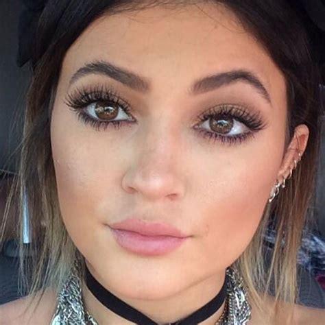 Lipstick Jenner jenner makeup bronze eyeshadow bubblegum pink lipstick style