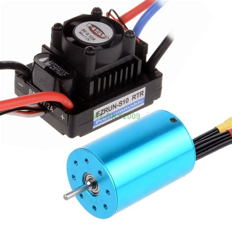 rc boat motors waterproof waterproof 45a brushless esc rs540 brushless motor