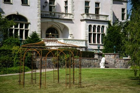 stabiler gartenpavillon stabiler gartenpavillon rost metall 216 350cm pavillon eisen