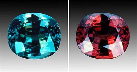 alexandrite color alexandrite effect gemstones that change color in
