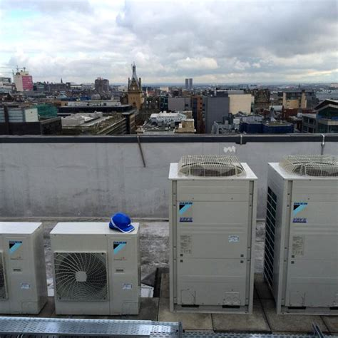 Ac Vrv air conditioning projects in scotland b dacs