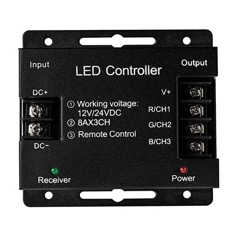 Controler Led Rgb Rf Wireles Remot rgb led controller wireless rf touch color remote with
