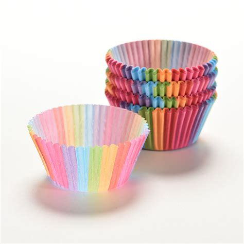 How To Make Paper Cupcake Holders - 100 pcs paper cake cup greaseproof cupcake holder