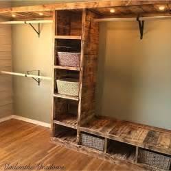 Tiny Bathroom Ideas Pinterest best 25 pallet wardrobe ideas on pinterest