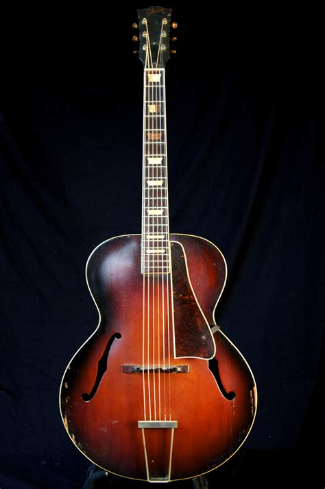 vintage 1946 gibson l 50 archtop acoustic aged