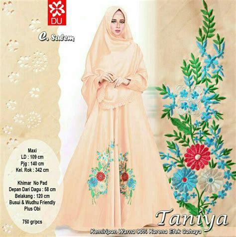 Syari Kerang Salem Grosir Baju Muslim Busana Muslim Baju Murah taniya syari salem model baju gamis terbaru