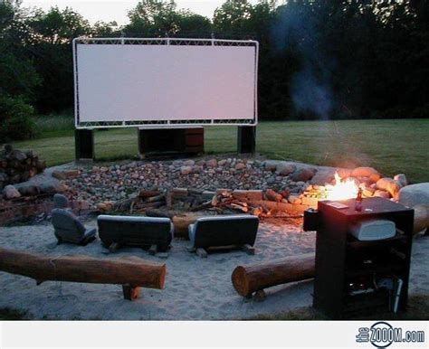 backyard theater for the home