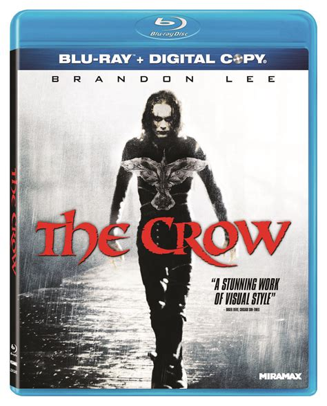 film blu usa will the crow 1994 arrives on blu ray in the usa dvd