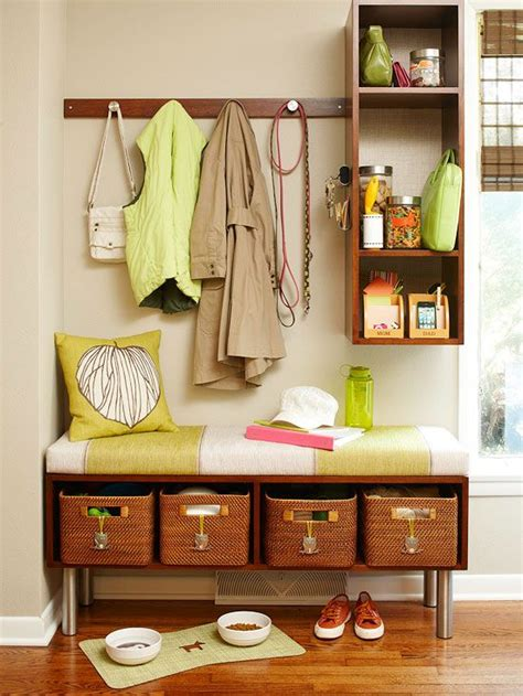 entryway organization ideas chic storage ideas